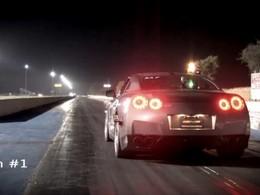 [Vidéo] 9,33 secondes pour faire un quart de mile en Nissan GT-R AMS, c'est pas beaucoup