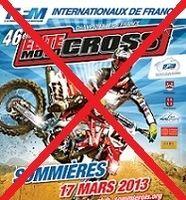 MX France Elite – L'épreuve de Sommières annulée !