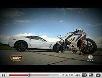 BMW S 1000RR vs Corvette ZR1 : Les 620 cv de la ZR1 suffiront-ils !?