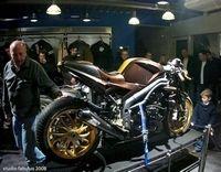 Triumph Lyon présente sa Speed Triple 1050...