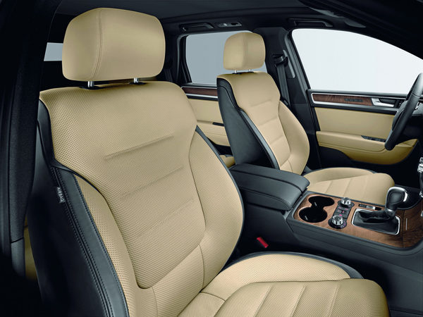 Volkswagen Touareg Exclusive Edition : plus luxueux