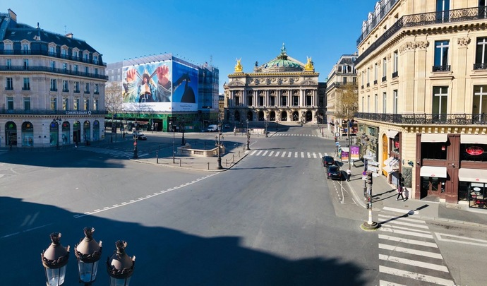 Les images impressionnantes des villes françaises sans voiture