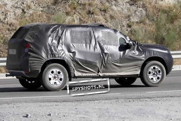 """Futur Dacia SUV: """"+2 comme 7 places"""""""