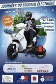 Journée du scooter électrique : la 5ème édition se déroulera du 1er au 7 avril 2013