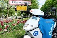 Cityscoot se déploie à Levallois-Perret
