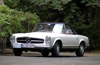 Rétromobile 2008: le stand Mercedes