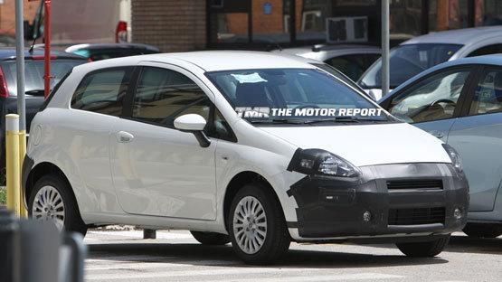 Spyshot : Fiat Grande Punto restylée