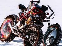Yondu Balamutti: une Ducati à trois roues