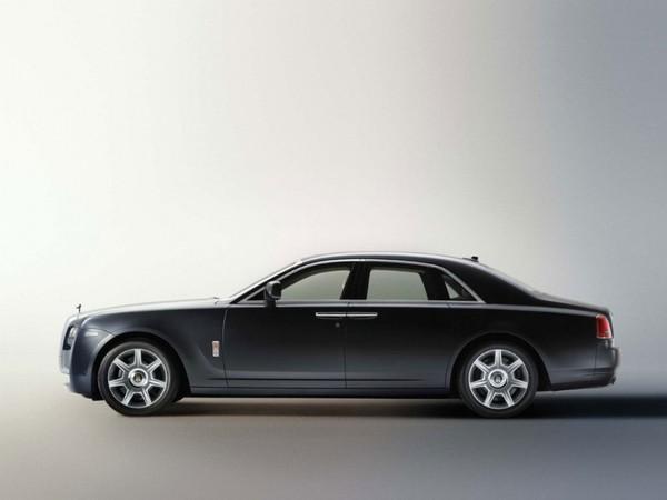 Rolls Royce Ghost à Francfort : V12 6.6l 570 ch 780 Nm