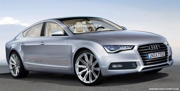 Future Audi A7 : comme ça ?