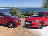 Comparatif - Peugeot 208 vs Mazda 2 : l'ombre et la lumière