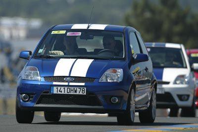 """""""J'ai roulé sur le circuit du Mans avec   une Ford Fiesta ST"""""""