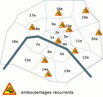 Paris : l'enfer du bouchon