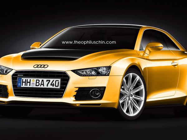 Audi Quattro : comme ça ?