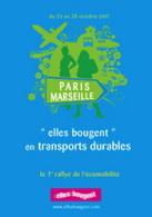 Association Elles bougent : bientôt le 1er Rallye de l'Ecomobilité !