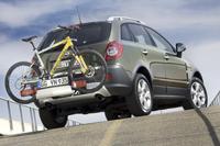 Le système de portage intégré « Flex-Fix », disponible sur l'Opel Antara