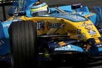 GP du Japon : libres 2, Giancarlo Fisichella en haut de la feuille des temps