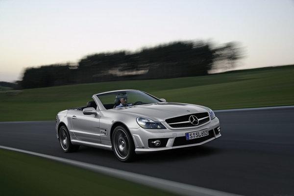 Mercedes SL 63 et 65 AMG + boîte MCT: jusqu'à 1000 Nm et 612 ch !