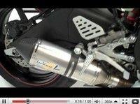 Yamaha R6 équipé d'un silencieux Leo Vince Factory: écoute...