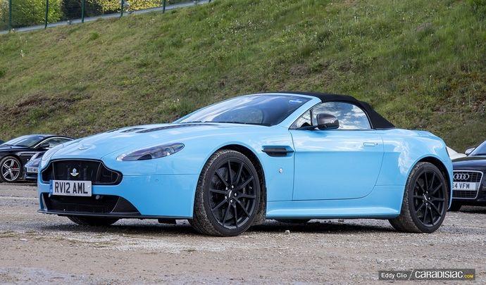Photos du jour : Aston Martin V12 Vantage S (Spa Classic)