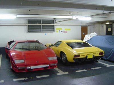C'est un parking extraordinaire!