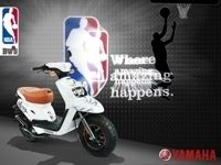 Nouveauté 2009 Yamaha BW'S 50 cm3 NBA : L'éternel Pivot