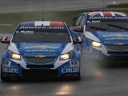 Chevrolet conserve ses pilotes en 2012