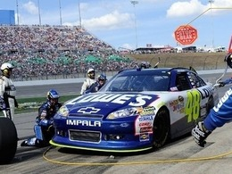 Jimmie Johnson au-dessus du lot au Kansas