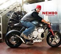 Concept - Nembo Super 32: La moto qui marche sur la tête
