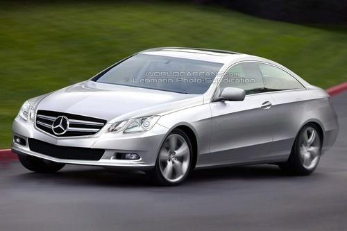 Futur Mercedes CLK 2009 : comme ça ?