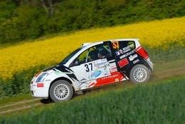 Bryan Bouffier au rallye Terre de Langres