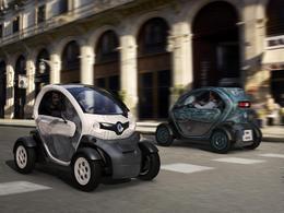 La Renault Twizy inspire deux œuvres exposées aux Tuileries