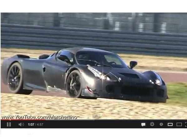 Surprise : les hauts hurlements de la Ferrari F150
