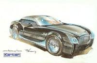 Projet n2a Motors SLR sur base de Cadillac XLR