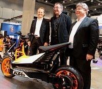KTM : le E-Speed, le premier scooter Orange