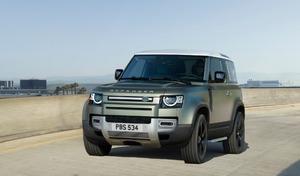 Coronavirus : Land Rover prête ses nouveaux Defender d'essais presse