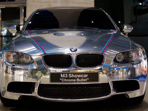 BMW M3 Chrome Bullet : du chrome à outrance