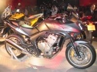 Rappel des Honda 600 CBF 2008