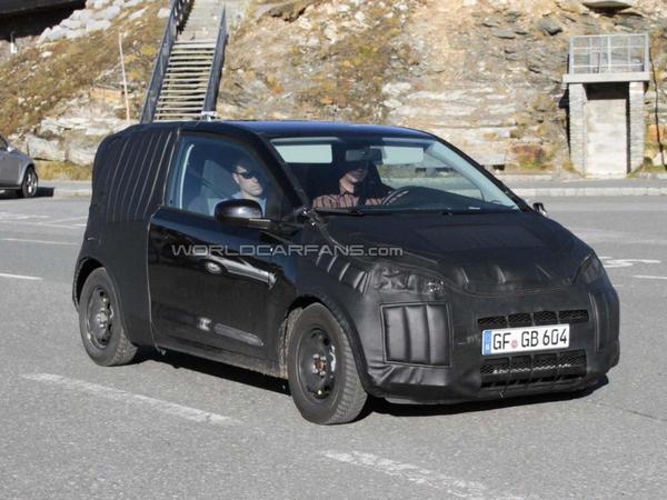 Spyshot : la Volkswagen Lupo se planque toujours