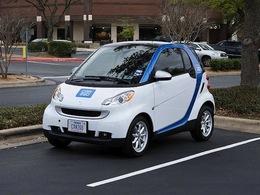 Lyon lance son système d'autopartage Car2Go
