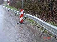 Glissières de sécurité : guillotines à motards