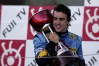 GP du Japon : Fernando Alonso remporte le GP du Japon par KO mécanique