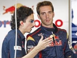 Vergne en piste avec Toro Rosso vendredi