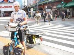Un Français parcourt 10 000 kilomètres à vélo