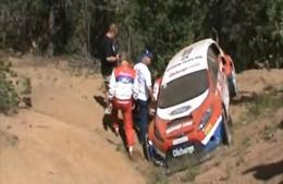 [Vidéo] Le crash de la Ford Fiesta à Pikes Peak
