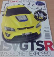 Holden HSV GTSR: 550 ch au moins