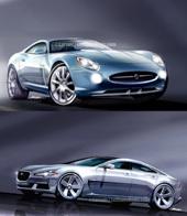 """Futures Jaguar XJ et """"911 Fighter"""": des propositions félines"""