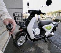 Honda : les scooters électrique envahissent le Japon