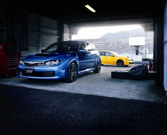 Nouvelle Subaru Impreza WRX STi Spec C : Japan only