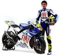 Vidéo moto : présentation de la Yamaha de Rossi